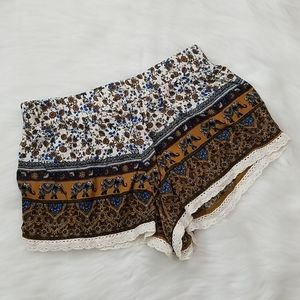 Forever21 Printed Shorts!